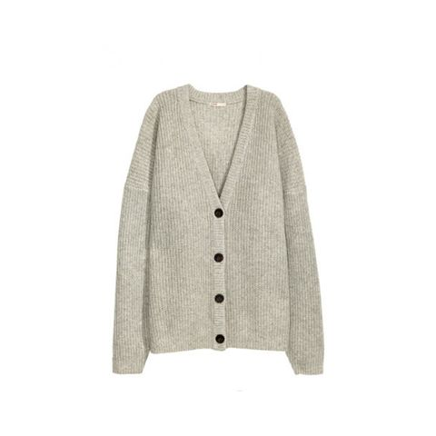 Knitted Wool Cardigan