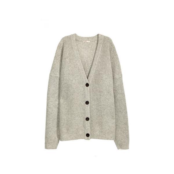 H&M Chunky-Knit Cardigan