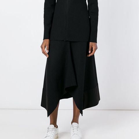 Draped Pleats Skirt