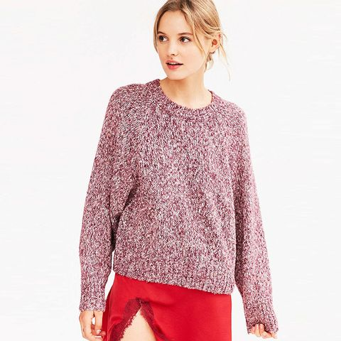 Marled Raglan Sweater