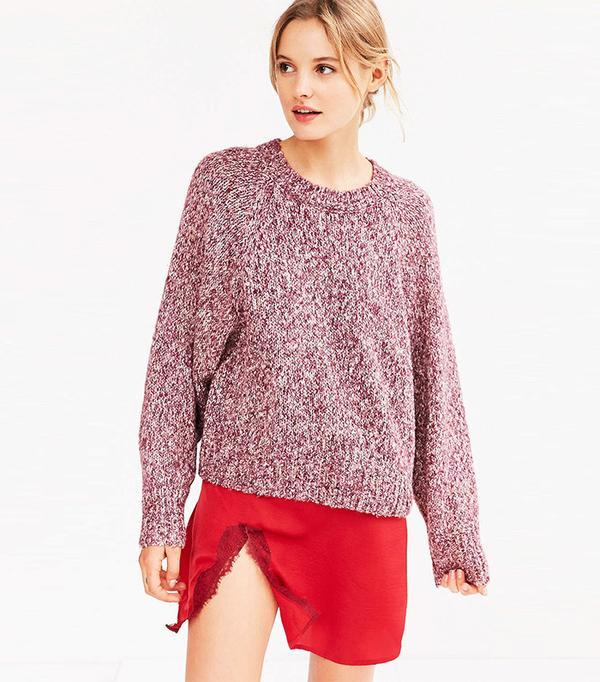Kimchi Blue Marled Raglan Sweater