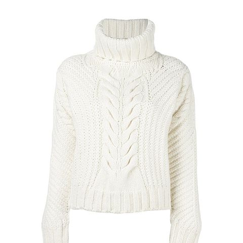 Tommy x Gigi Hadid Chunky Cable Knit Jumper