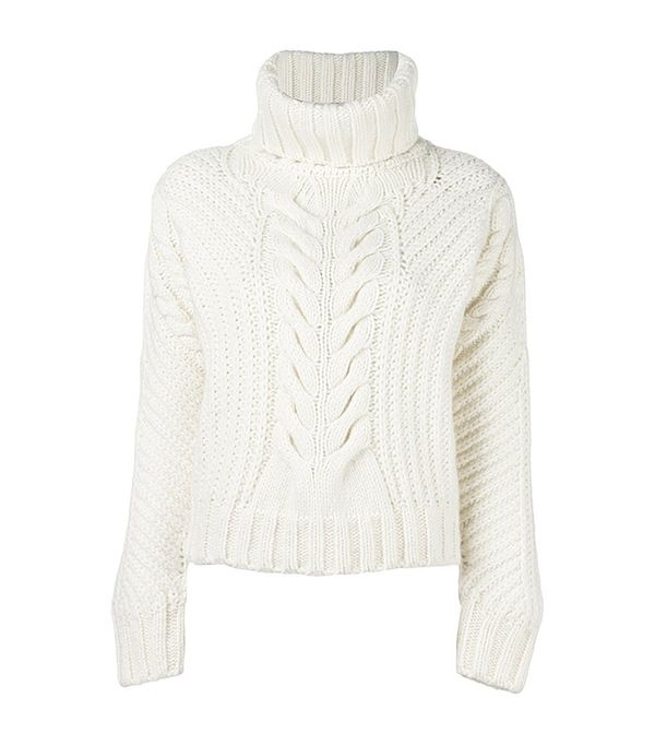 Tommy Hilfiger Tommy x Gigi Hadid Chunky Cable Knit Jumper