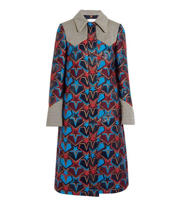 Mary Katrantzou Stardom Jacquard Coat