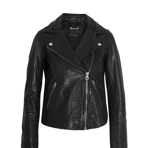 Moto Leather Biker Jacket