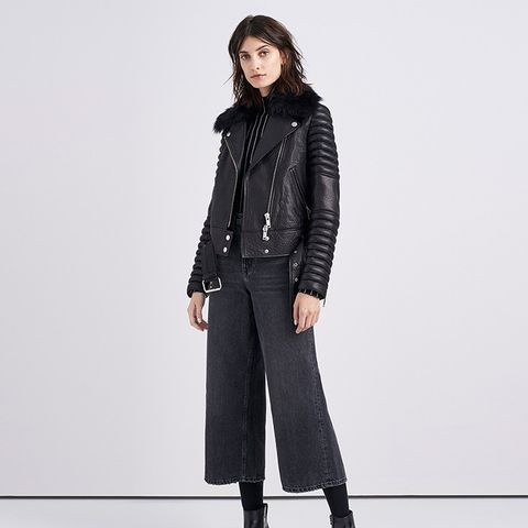 Rainier Leather Moto Jacket