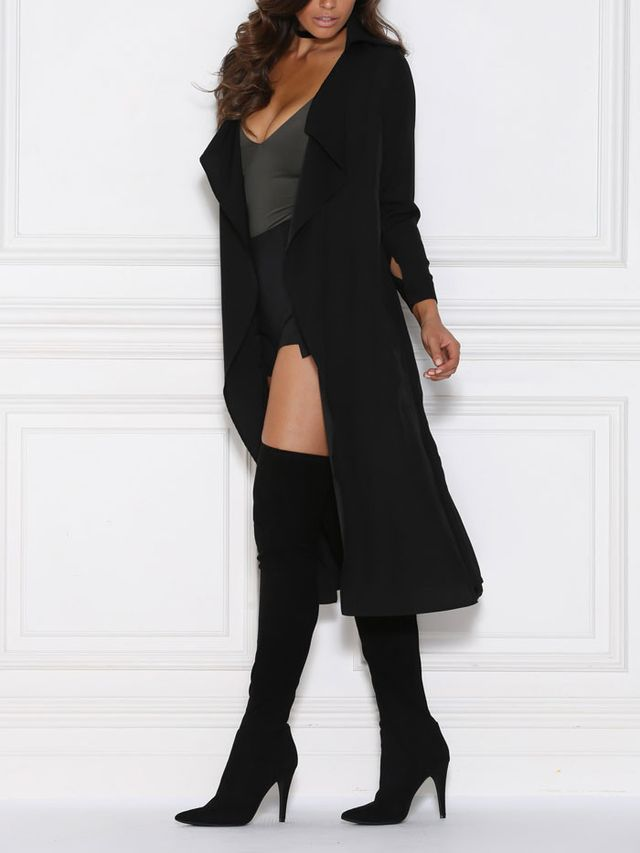 Meshki Dulce Duster Trench Coat
