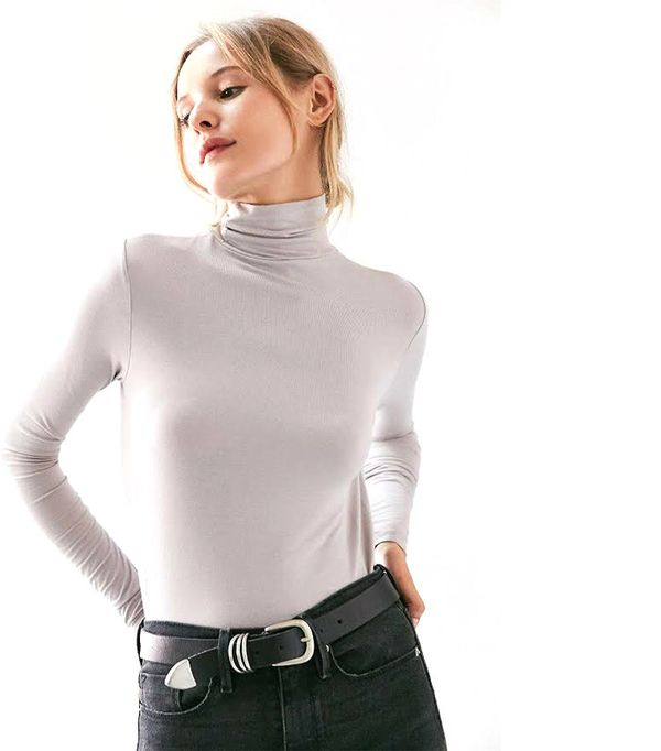 Silence + Noise Sven Perfect Turtleneck Top