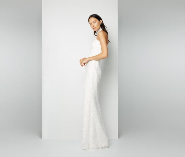 Fame & Partners Elegant Lace Dress