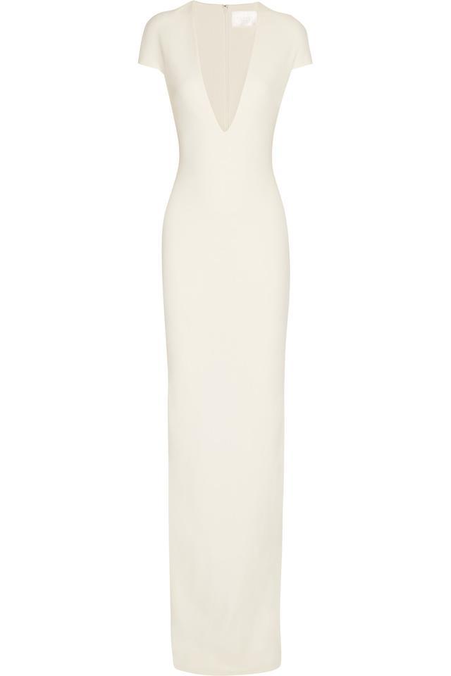Solace London Mason Stretch-Crepe Maxi Dress