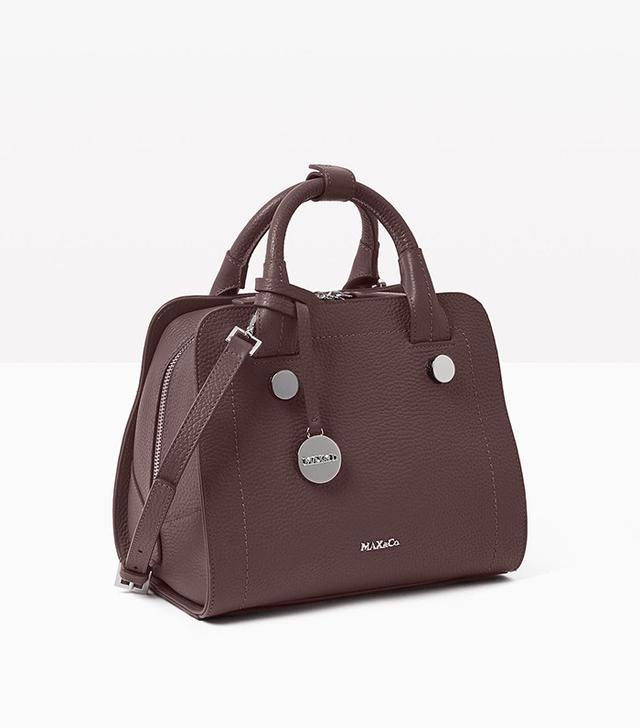 Max & Co. Leather Boston Bag