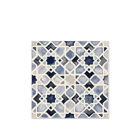 Moorish Tile No.4 in Azul