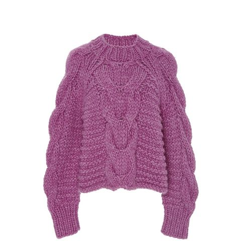 Hibiscus Francisca Cableknit Sweater