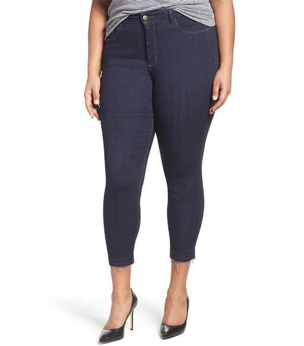 Plus Size Women's Nydj Ami Release Hem Stretch Skinny Jeans