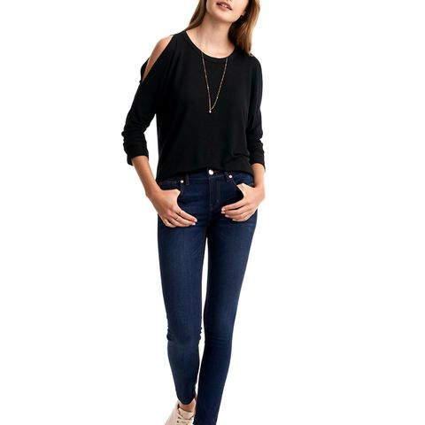 Skinny Jeans in Authentic Mid Indigo Wash