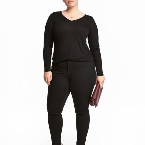 Shaping Skinny Jeans in Black