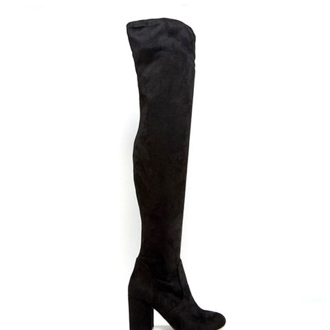 KATCH UP Stretched Over the Knee High Heel Boots Heeled Boots