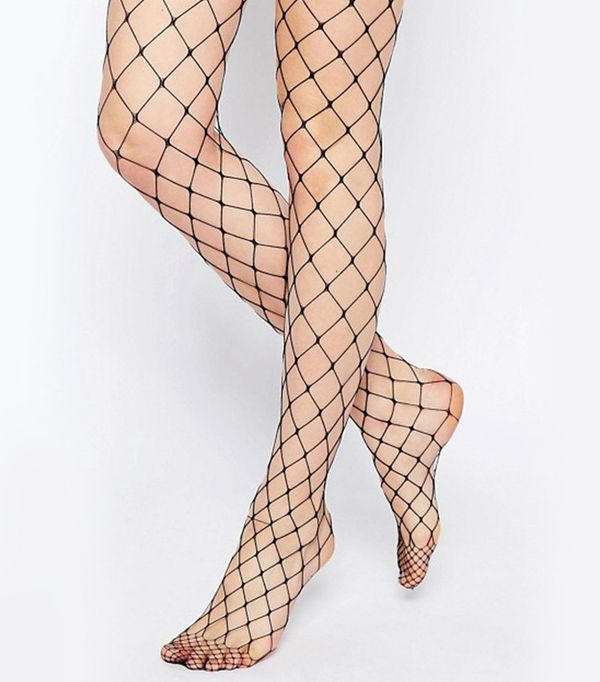 7 ways to wear this major 39 90s trend whowhatwear for Fish net leggings