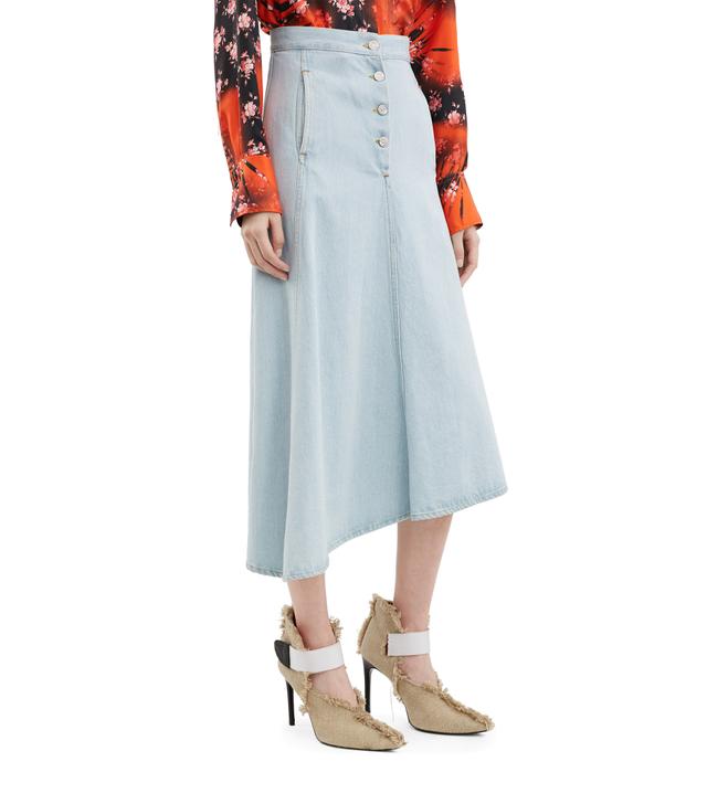 Acne Studios Kady Den Light Vintage Denim Skirt