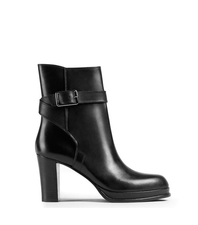 Acne Studios Opal 80 Black/Black Jodhpur Boots