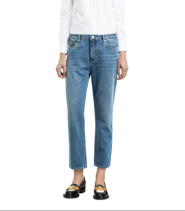 Acne Studios Pop It Vintage Cropped Jeans