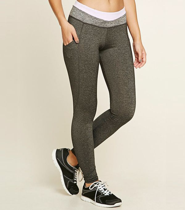 Forever 21 Active Heathered Leggings