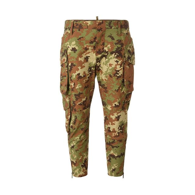 Dsquared2 Cropped Camp Pants