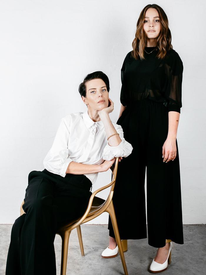 Karen Walker and Beck Wadworth