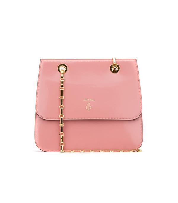Pink Francis Shoulder Bag by Mark Cross
