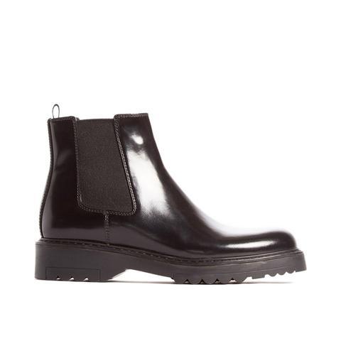 Lug Sole Chelsea Boot