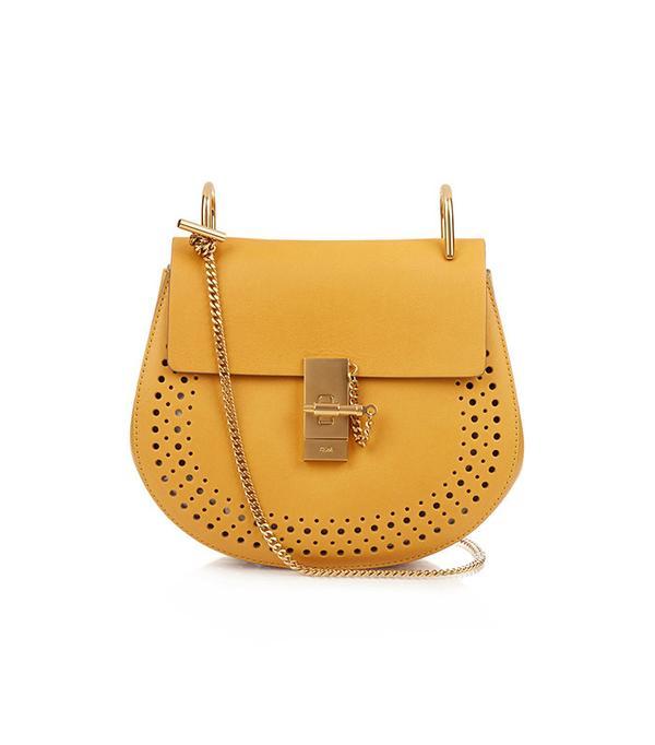Drew Small Leather Cross-Body Bag by Chloe