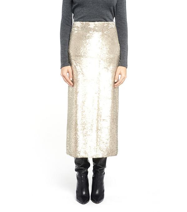 Long Glitter Skirt by Iro