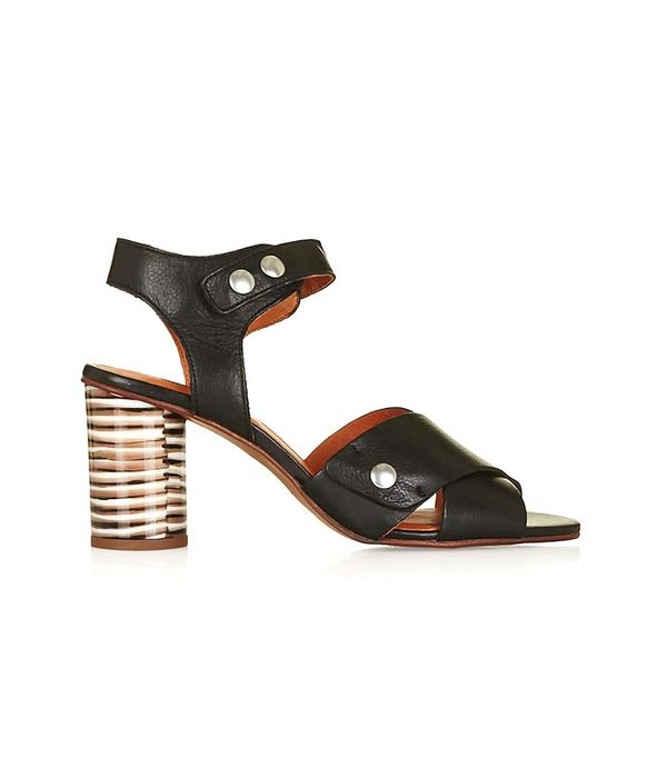 Cross Strap Sandals by Topshop