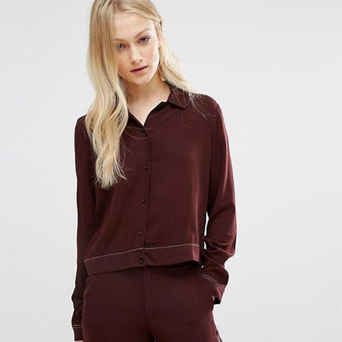 Pyjama Style Blouse