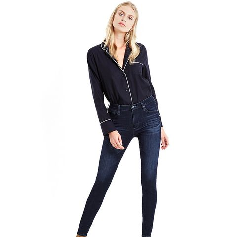 The Farrah Skinny Jeans in Idle Waters