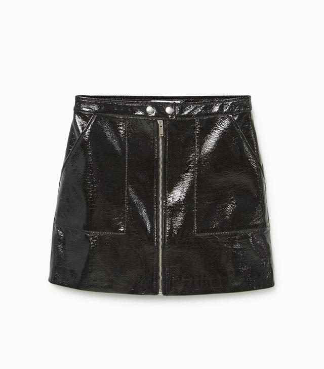Mango Zip Skirt
