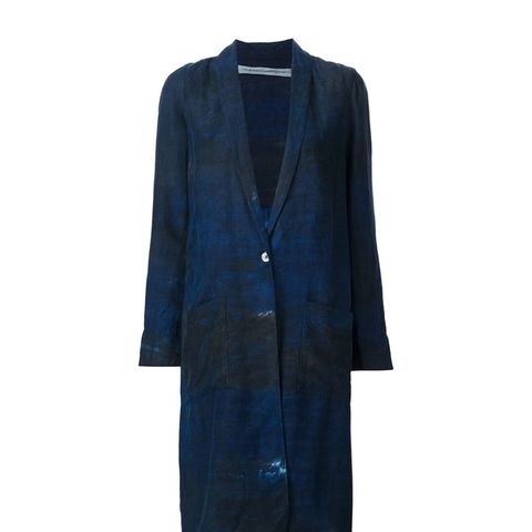 Diistressed Duster Coat