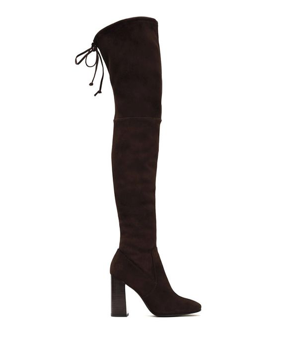 Frye Mina Stretch Thigh Boots