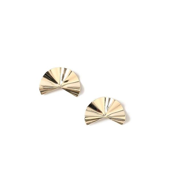 Topshop Fan Shape Earrings