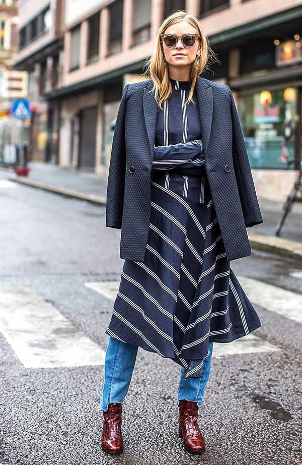 dress-over-jeans-street-style