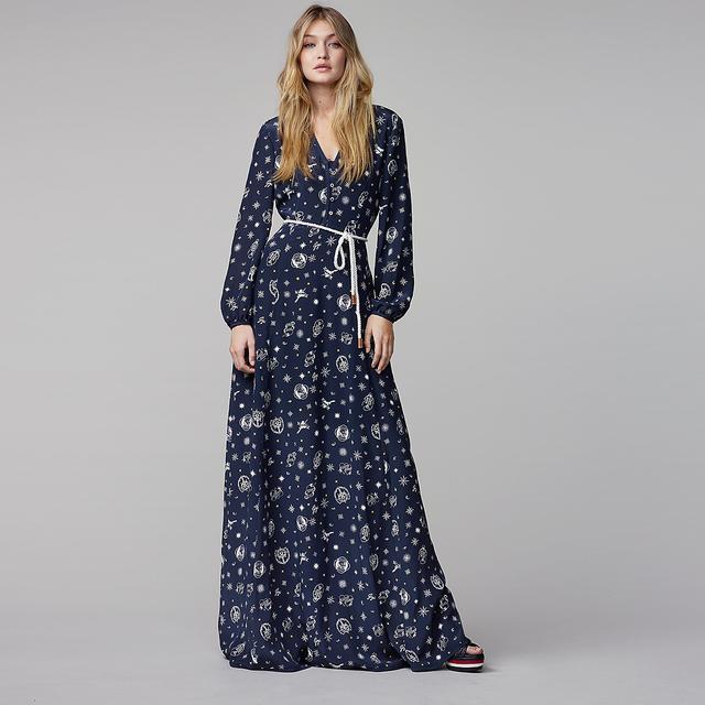 Tommy Hilfiger  Printed Silk Dress