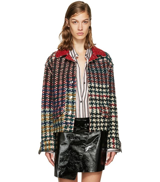 Isabel Marant Reversible Multicolor Demma Jacket