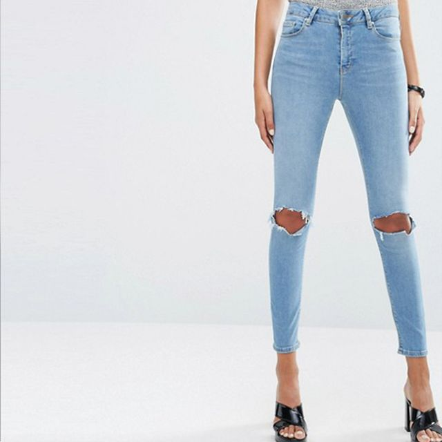 ASOS High Rise Jeans