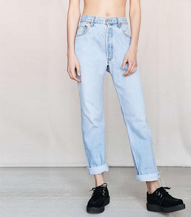 Urban Renewal Vintage Levi's 505 + 501 Jeans