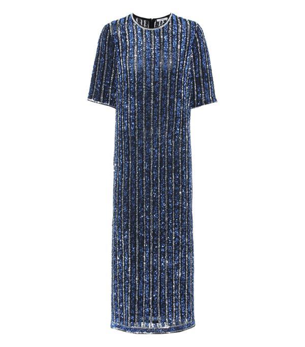 best New Year's Eve dresses: Ganni Pfeiffer Sequinned Dress