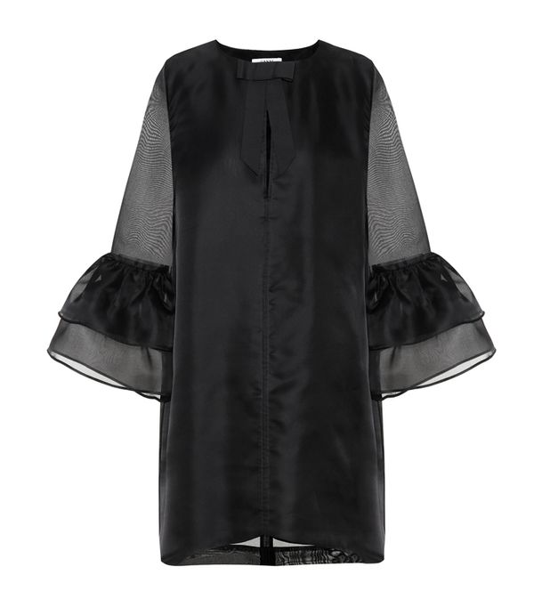 best New Year's Eve dresses: Ganni Senca silk dress
