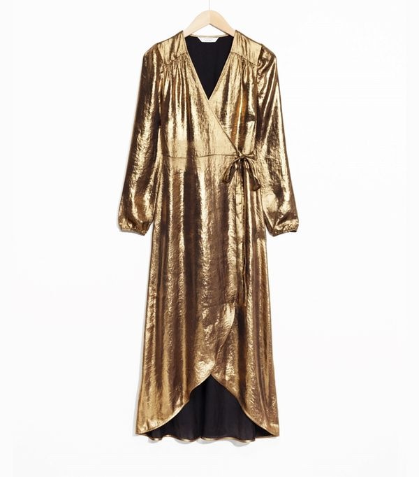 best new year's eve dresses: & Other Stories Wrap Dress
