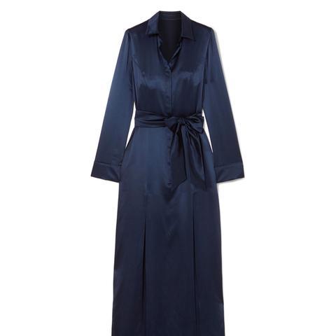 Laguna Silk-Satin Dress