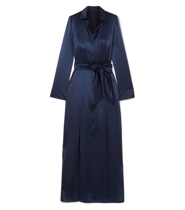 best New Year's Eve dresses: Galvan Laguna Silk-Satin Dress