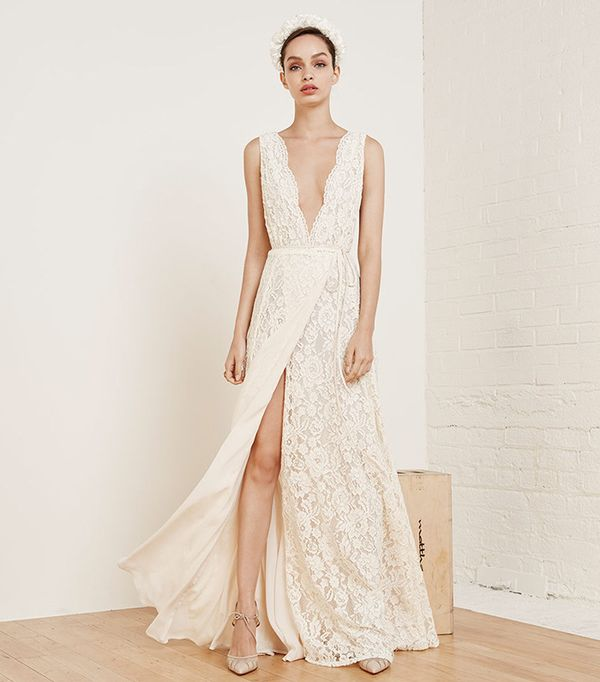 Francesca Affordable Wedding Dress By Reformation